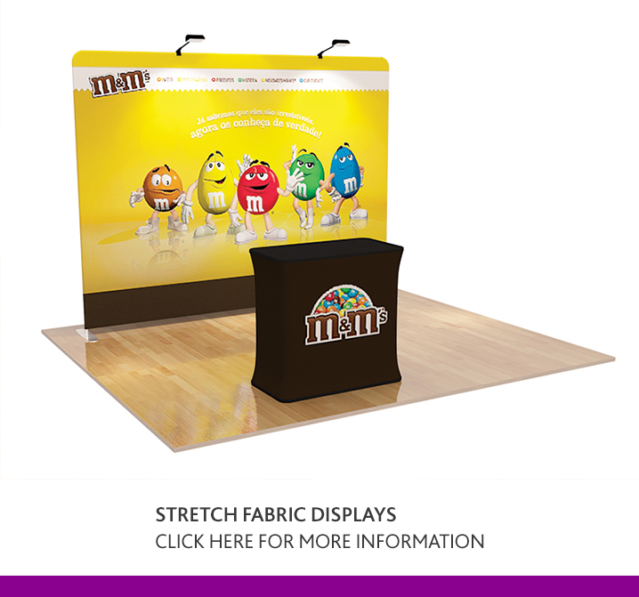 Stretch Fabric Display Backdrops & Booths