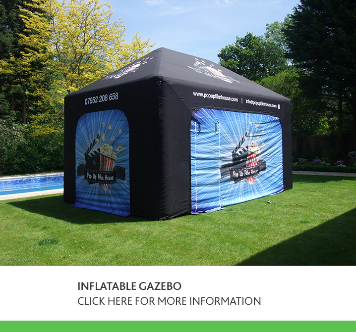 Inflatable Gazebo - Sealed Air Design