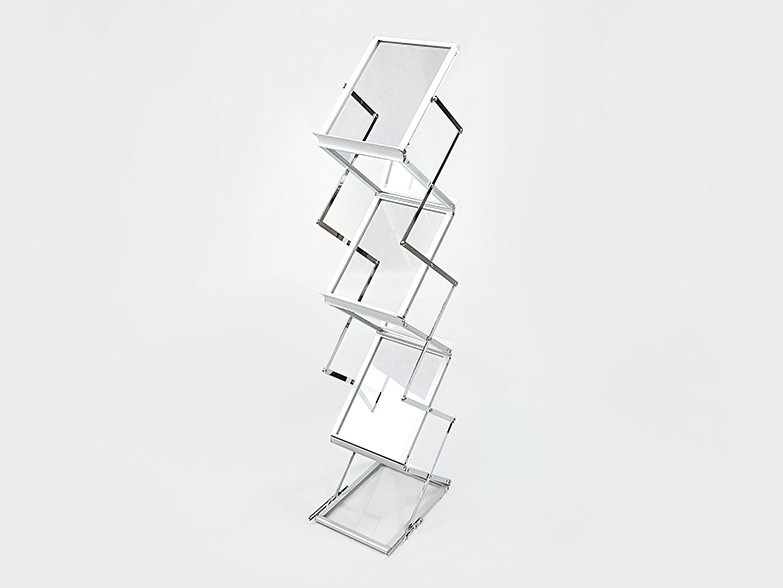 Pro Brochure Stand Silver