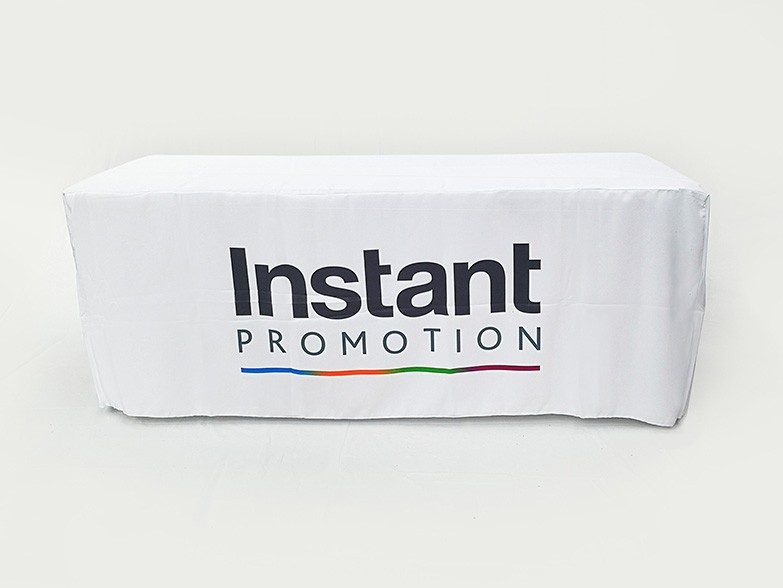 Fitted Table Covers With Custom Printing 4ft 6ft And 8ft Sizes