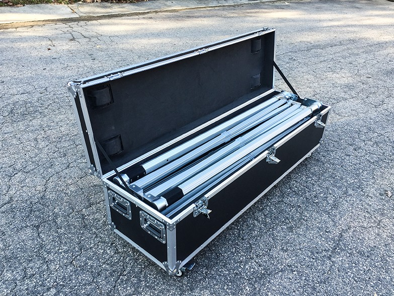 Flight Cases - Heavy duty transport cases for gazebo frames
