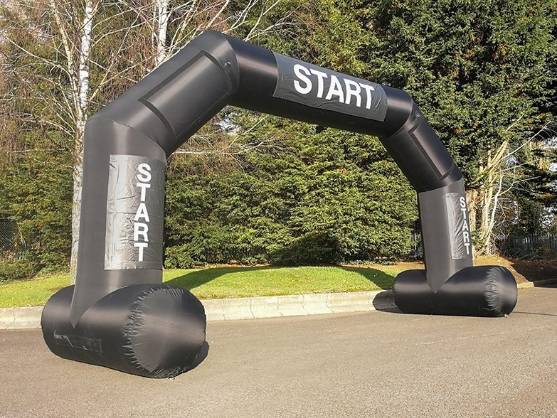 For Hire Freestanding Arch with Banners