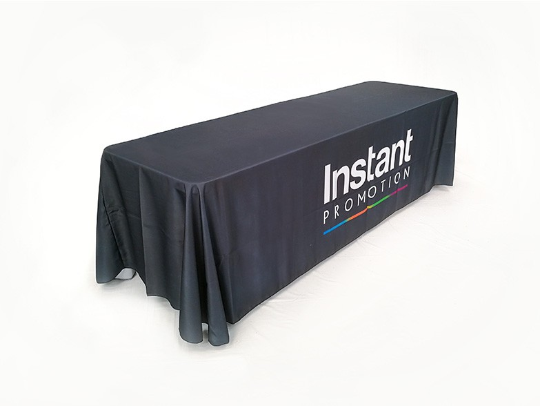 Loose Fitted Table Covers Custom Printed In 4ft 6ft Or 8ft Sizes