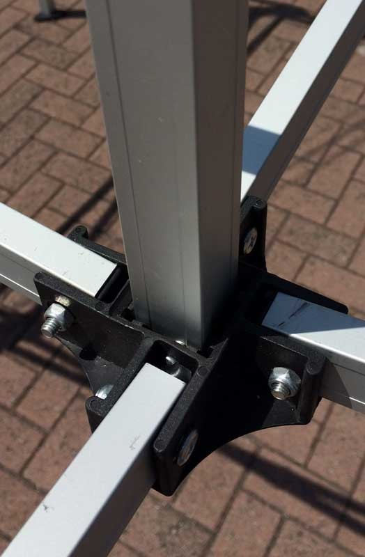 GZBO Series 40 Lower Peak Pole 4 Way Bracket