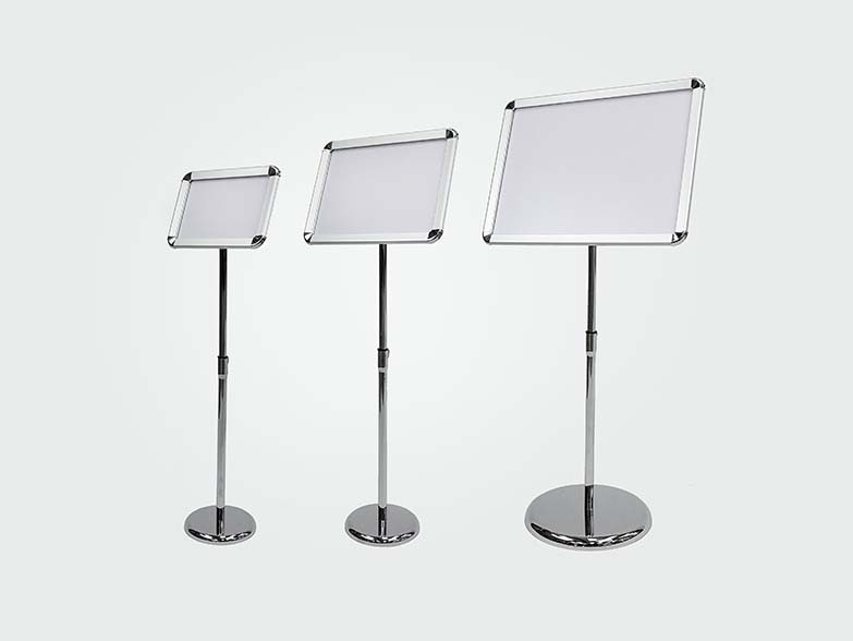A2 A3 A4 Poster Stands landscape setting