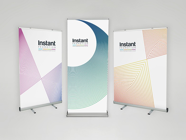 Professional Roller Banners - Ideal for Exhibitions and