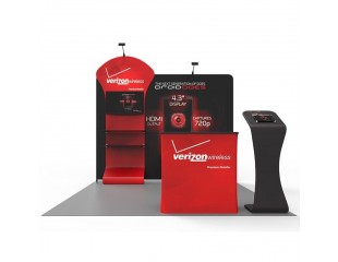 3m Custom Booth Package E