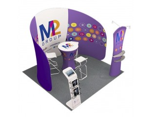 3m Custom Booth Package F