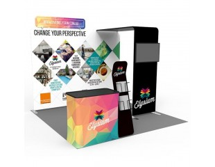 3m Custom Booth Package M
