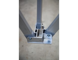 Hex 50 3 Way Truss Bar Bracket - Lower