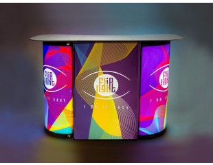 Flip Light Double Promo Desk