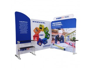 3x2m Tension Fabric Display Booth