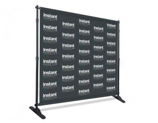 IP Telescopic Backdrop Display