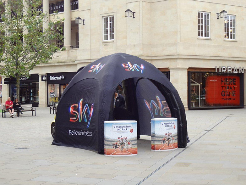 The Spider Dome Pro as used by BSKYB