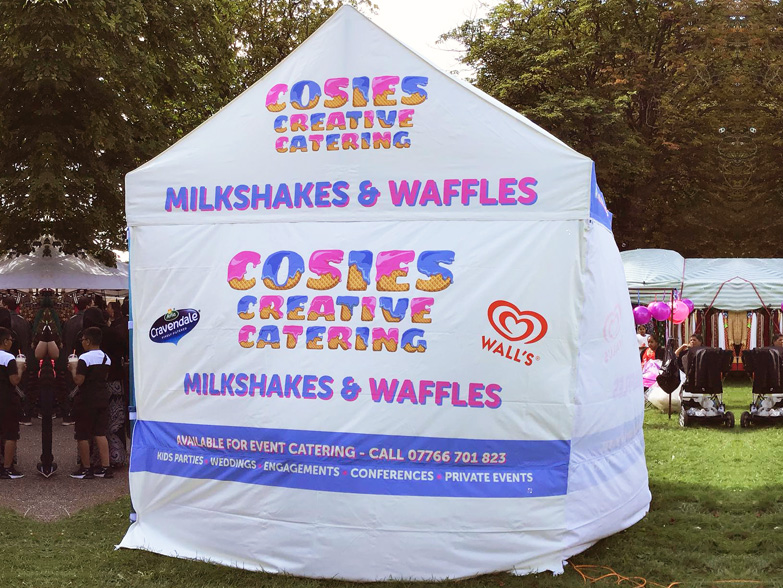 Cosies' Branded Cabin Canopy