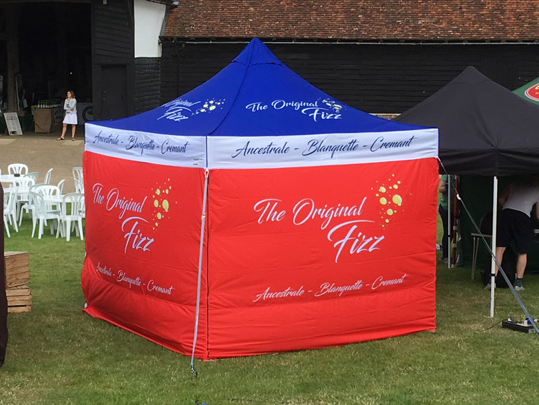 The Original Fizz Printed Gazebo