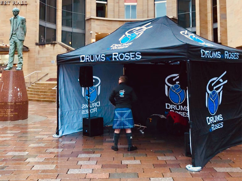 Drums N Roses Gazebo