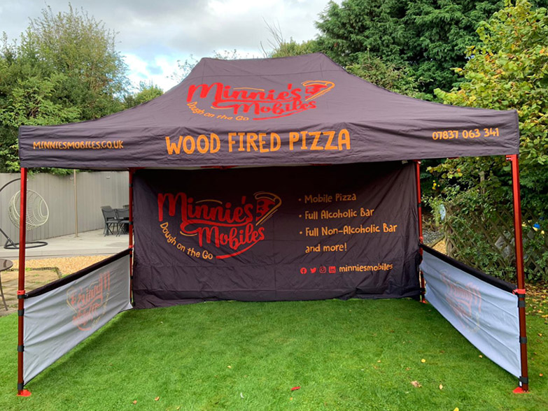 Minnie's Mobiles Branded Gazebo