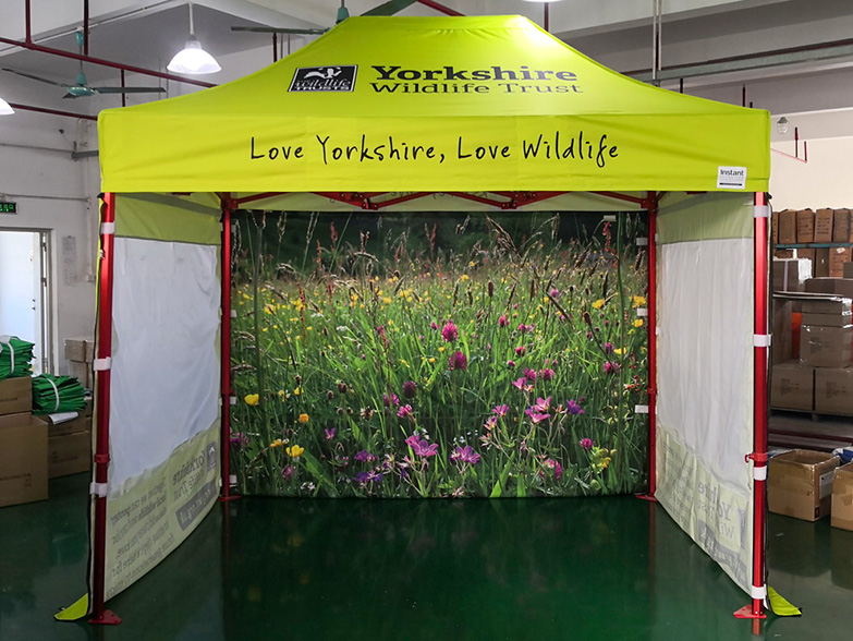 Yorkshire Wildlife Trust Gazebo