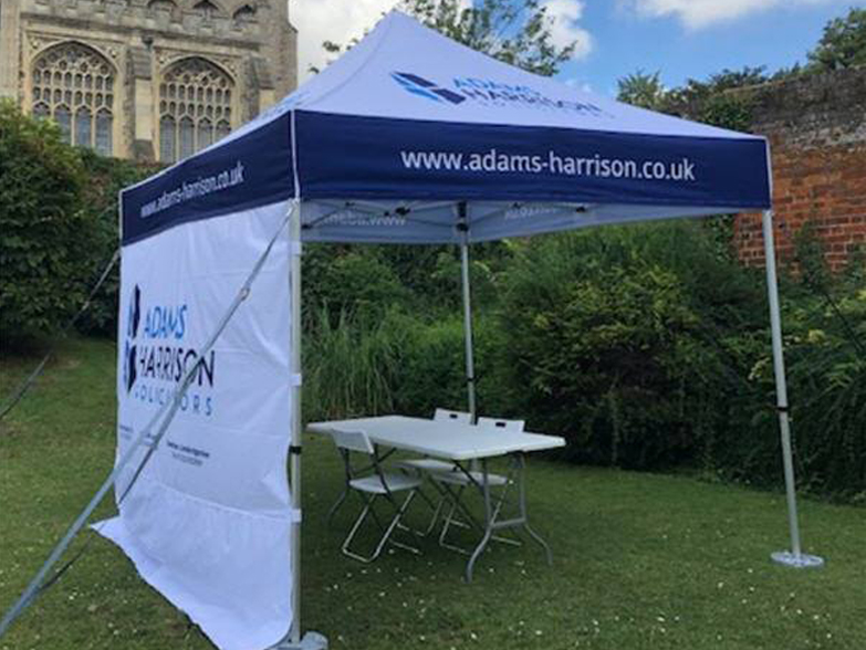 Adams Harrison Solictors 3x3m gazebo