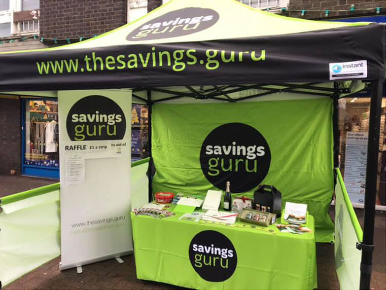 The Savings Guru Gazebo