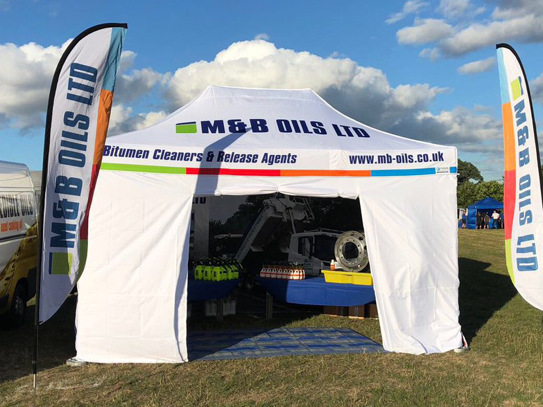M&B Oils Gazebo