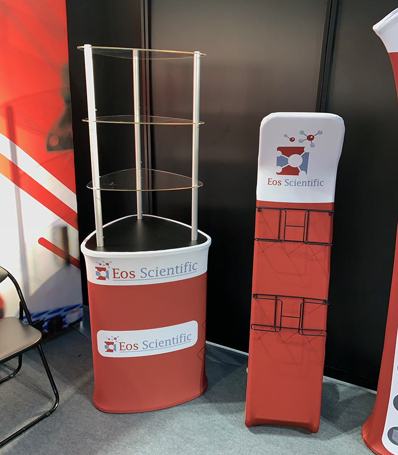 Eos Scientific Display Booth