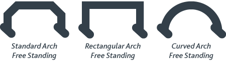 Freestanding Arches